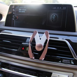 Car Use Phone Holder M Shape Phone Holder ABM0005 Pink