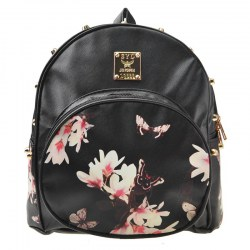 Fashion Rivets Girls Butterfly Backpack Black