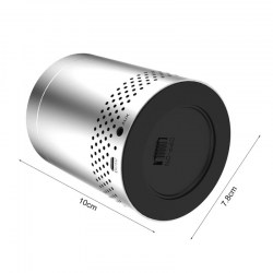 S15 Bluetooth Speaker Portable Mini Speaker Subwoofer with TF Card Slot Silver