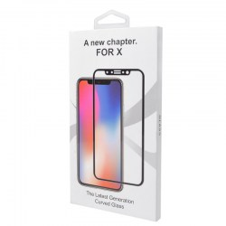 4D All Screen Tempered Glass Screen Protector for iPhoneX