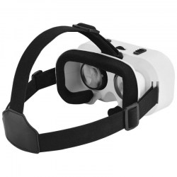 VR SHINECON G05A 3D Glasses for 4.7 - 5.5 inch Phones Eye Protected Virtual Reality Headset White