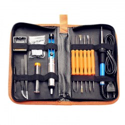110/220V 60W Adjustable Electric Temperature Soldering Welding Iron Tool Kit