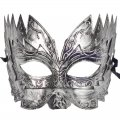 Pretty Masquerade Mask Sawtooth Archaize Mask Silver