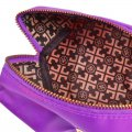 Travel Protable Make Up Cosmetic Pouch Storage Holder Case Bag Purple