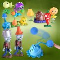 RNC Plant Zombies Figure Toy Launch Weapons Toy Cartoon Figure Toy Set