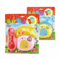 Children Early Education Toy Mushroom Appearance Telephone Toy Cartoon Music Telephone
