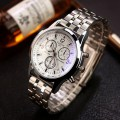 man waterproof business Stainless Steel 271 White