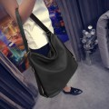 Dumplings Style Single Shoulder Bag Black