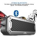 S6 Bluetooth Speaker Portable Speaker with TF Card Slot Black