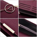 Lady Fashion Simple Shoulder Bag Chain Belt Mini Bag JY704A Claret