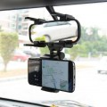 Universal Car Phone Holder Car Rearview Mirror Mount Phone Holder 360 Rotate