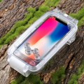 PULUZ PU9005 40m/130ft Waterproof Diving Surfing Housing Case for iPhone X