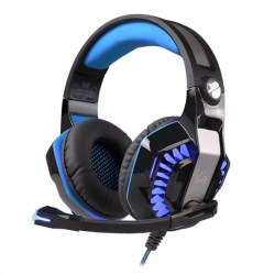 G2000 Lightweight Gaming Headset LED Headband Luminous Gamer Headphones
