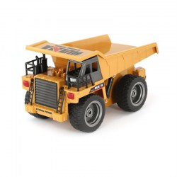 HUINA 1540 1/18 6CH RC Dump Truck Construction Engineering Vehicle Alloy Car