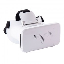 Riem III Virtual Reality 3D Glasses White for Android&IOS Smartphones 3.5-6.0 in Screen