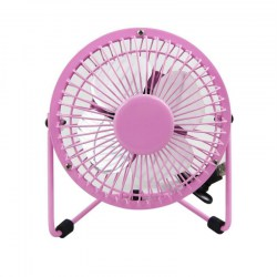 4 Inch Portable Size USB Rechargeable Table Desktop Personal Fan for Office