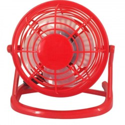 4-Inch Mini Portable USB Plastic Fan Handheld Desk 4 Blades Cooling Fan