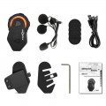 T-Max Helmet Intercom Headset 1500M 6 Riders Bluetooth Interphone