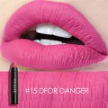 Lovely Pen Shape Women Girls Matte Lipstick Trendy Long-lasting Lipstick
