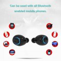 HBQ18 TWS Touch Control Wireless Twins Bluetooth Earphones With Charging Box