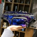 Bling-bling Sequins Decoration Large Capacity Fashion Waist Bag Chest Pack