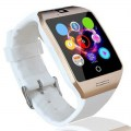 Q18S Bluetooth Smart Watch Remote Camera Support TF SIM Card Fitness Pedometer