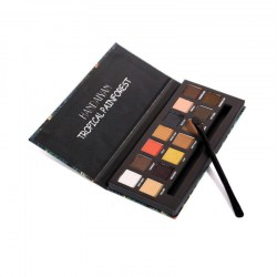 14 Colors Eyeshadow Makeup Palette Shimmer Matte Pigment Glitter With Brush
