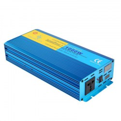 1000W Pure Sine Wave Car Inverter DC12V To AC220V Aluminum Alloy Housing