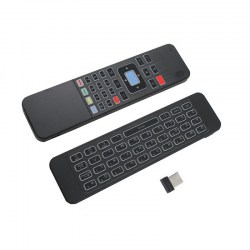 2.4GHz RF Wireless Smart Fly Mouse & Keyboard Remote Control for TV Box