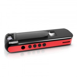 009 Mini Camera Camcorder Recording Pen with MP3 Player 1080P HD Rotate Lens