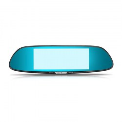 7-Inch Display Screen 1080P HD Dual Lens Vehicle Rearview Mirror 1GB + 16 GB