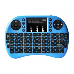 Rii i8+ 2.4GHz Wireless Keyboard Touchpad Combo LED Backlit Multimedia Keys