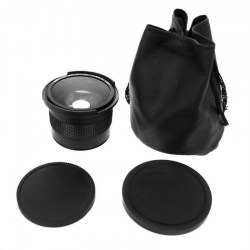 0.35x 58mm 52mm Fisheye Lens For Canon 70D 60D 7D 6D 700D 650D 600D 550D 500D