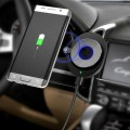 A1 Portable Wireless Charger For Vehicle Car For Mobile Phone With LED Light