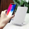 T100 Wireless Charger Portable Charging Device For Qi Standard With LED Light