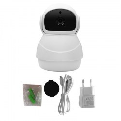 2 Million Pixel Snowman 361VR Panoramic Shake Head Machine Digital Camera
