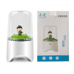 AS103 Mini Bluetooth Speaker Innovative Cartoon Speaker USB Desktop Speaker