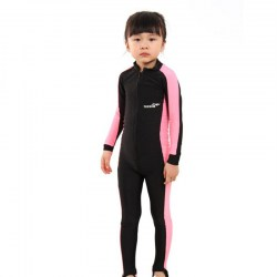 Kids Diving Suits Children Swimwear Long Sleeves Girls Boys Surfing Wetsuit