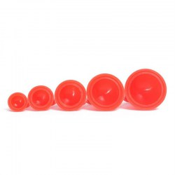 12pcs Silicone Body Massager Vacuum Cupping Therapy Cups Health Care Tool