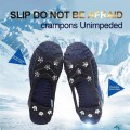 8-Stud Anti-slip Shoes Cover Snow Shoe Spikes Grips Outdoor Ice Crampon Tool