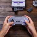 For 8Bitdo SN30 Pro 2.4G Wireless Controller Gamepad For SNES Classic Edition