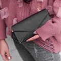 Thin Women Multi-Card Slots Long Wallet Soft PU Leather Credit Cards Purse