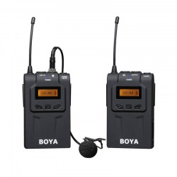 BOYA BY-WM6 Wireless Microphone System Omni-directional Lavalier Microphone
