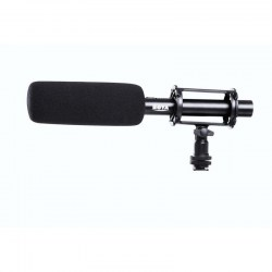 BOYA BY-PVM1000 Professional Condenser Interview Reporting Shotgun Microphone