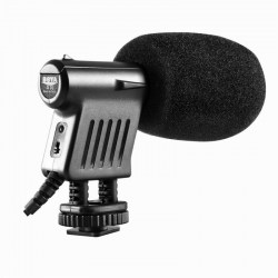 BOYA BY-VM01 3.5mm Video Broadcast Recording Directional Condenser Microphone