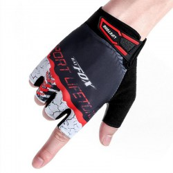 Cycling Half Short Finger Gloves Bicycle Gloves Men Women Bike Mitts
