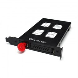 Metal Structure HDD Case HDD Enclosure For 7-9.5mm 2.5Inch SATA SSD Hard Drive