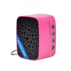 Super Loud SOS Alarm Mini Portable Speaker Rechargeable Self Defense Alarm
