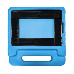 Kid Drop-Resistant EVA Tablet Protective Case with Carry Handle for iPad 5/6
