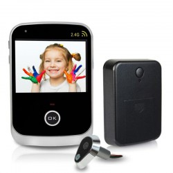 "3.5 "" Digital Door Eye Peephole Wireless Home Video Doorbell Camera Monitor"